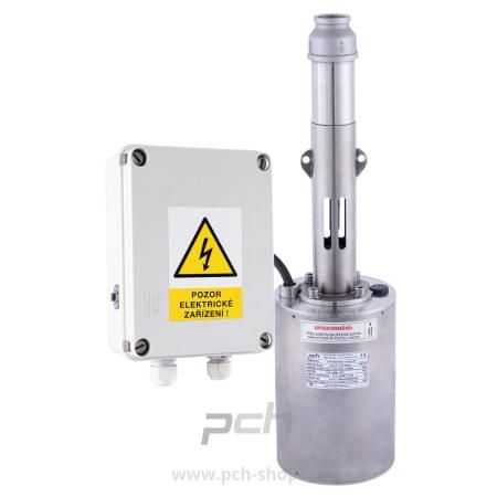 Vřetenové ponorné čerpadlo určené zejména pro dodávku vody v domácnosti a pro napájení domácí vodárny. PCH výroba a projekty