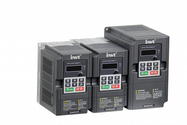 GD10-0R2G-S2-B výkon 0,2 kW 1x230VAC INVT