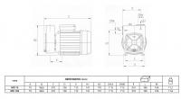 Samonasávací čerpadlo Pentax MD 75
