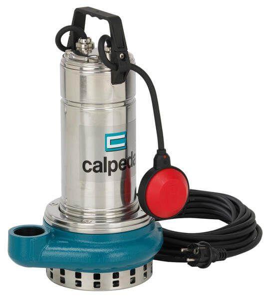 Calpeda GQRM 10-18 230V ponorné drenážní čerpadlo splovákem, kabel 10m