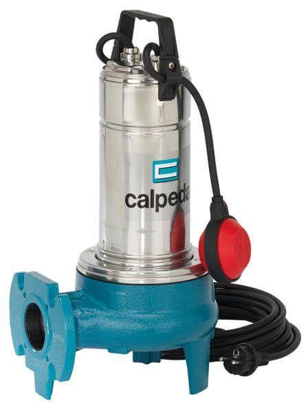 Calpeda GQV 50-9 400V ponorné kalové čerpadlo, 10m kabel